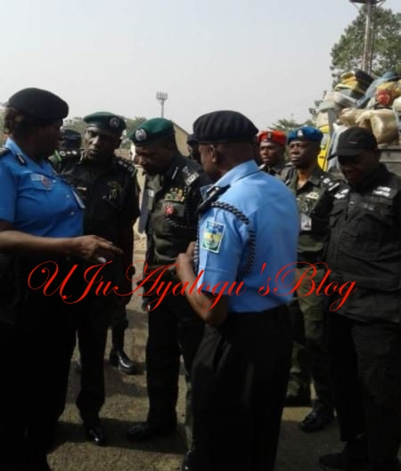 Benue killings: IGP, Idris finally arrives Benue after Buhari's order [PHOTOS]