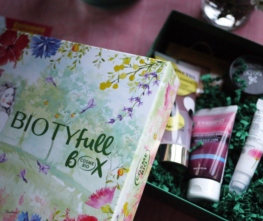 Biotyfullbox Avril 2019 - 100% cosmebio