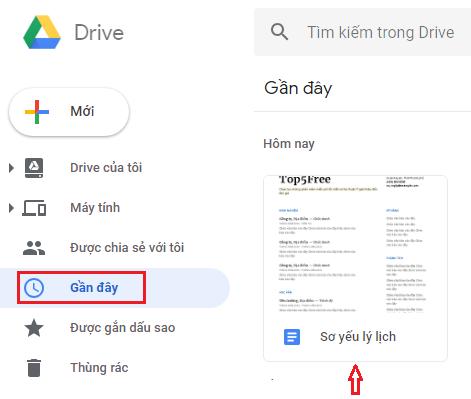 Soạn Thảo Theo Mẫu Với Google Drive - Top5Free