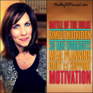 Battle of the Bulge, Health and Fitness Accountability Group, Julie Little Fitness, www.HealthyFitFocused.com