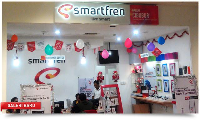 Layanan Informasi dan Keluhan Galeri Smartfren di Bandung