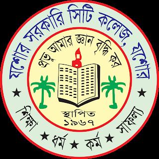 jessore govt city college jessore bangladesh Logo