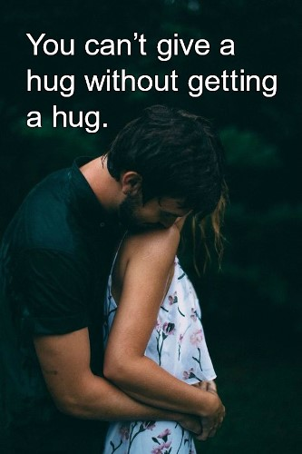hug quotes for friends