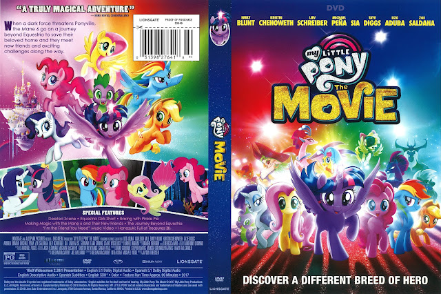 My Little Pony The Movie DVD Cover