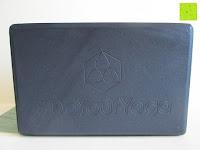 Flächen: Yogablock »Aruna« / Sehr leichter Hartschaum Yoga-Block, zur Unterstützung spezieller Yoga-Übungen. In vielen Trend-Farben erhältlich.
