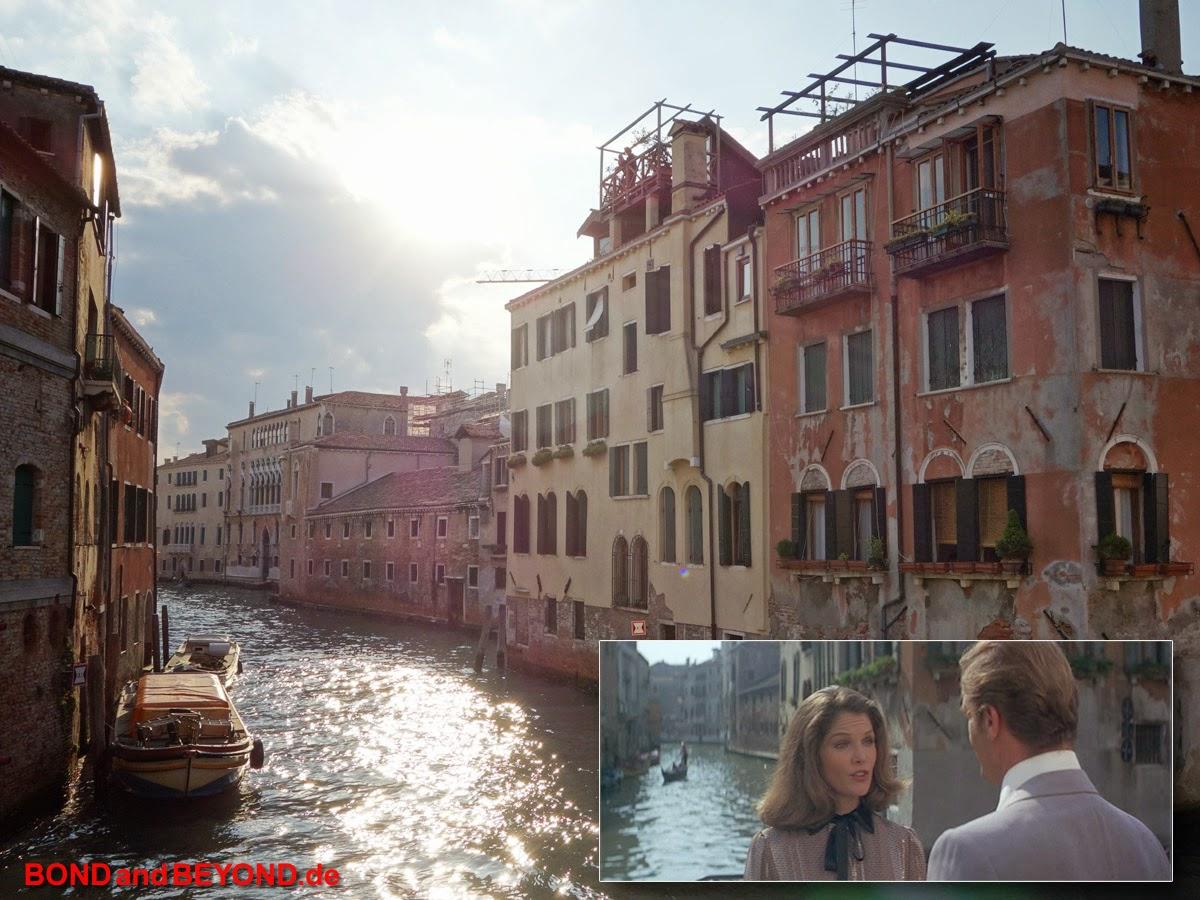 Moonraker, Venedig