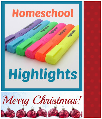 Homeschool Highlights - Merry Christmas! on Homeschool Coffee Break @ kympossibleblog.blogspot.com