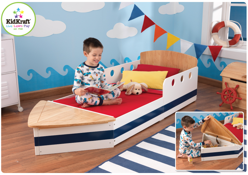 KidKraft Toys & Furniture: Boat Toddler Bed