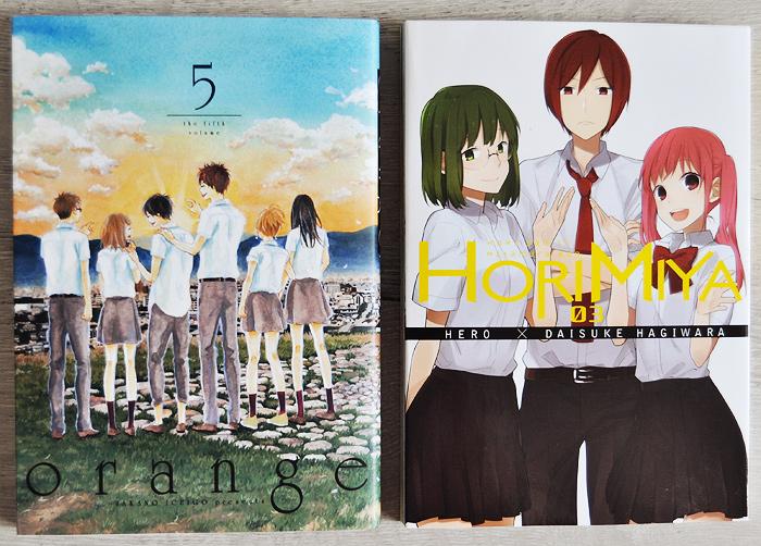 Orange volume 5, Horimiya volume 3