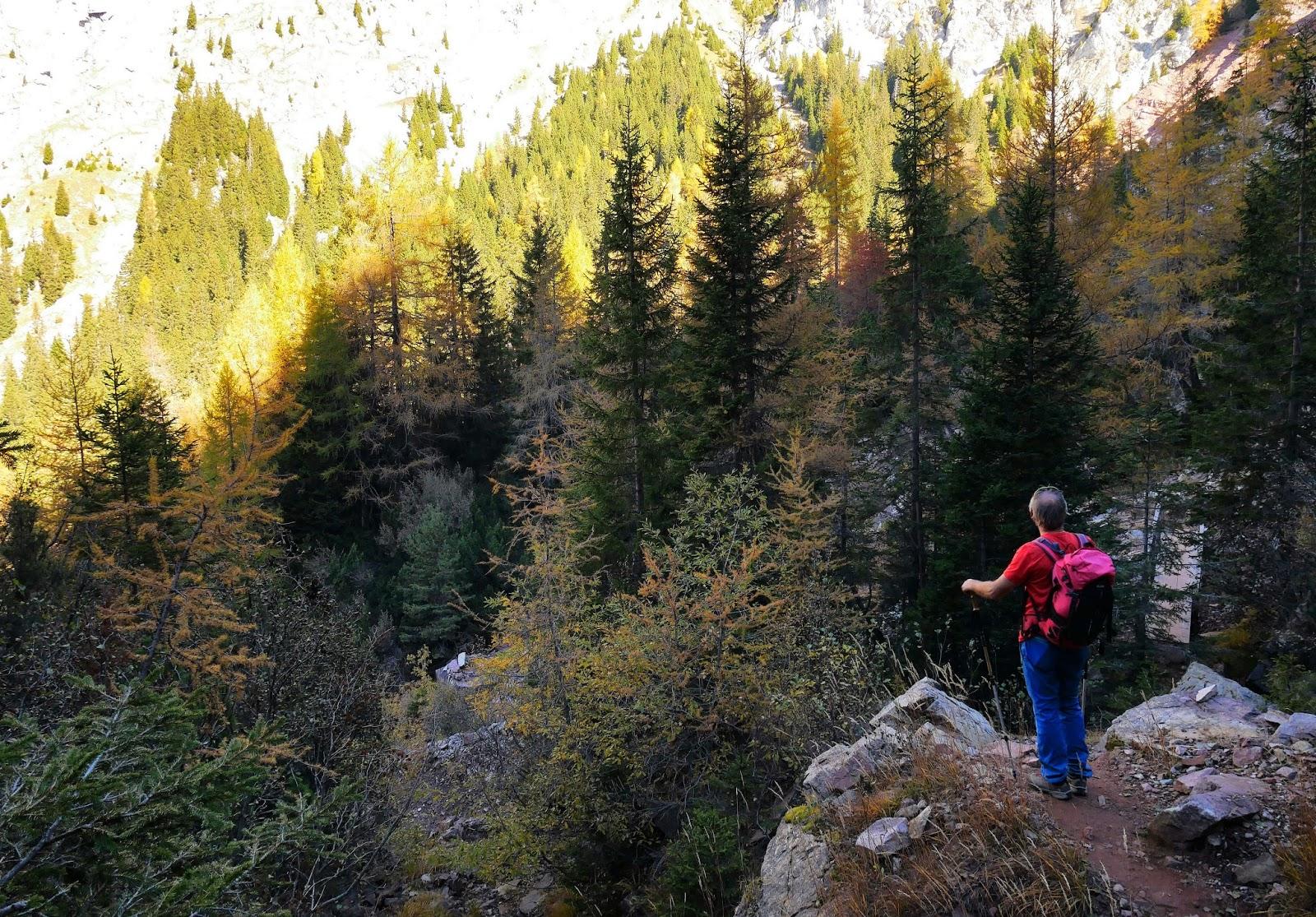 Klettersteig Ifinger : Klettersteig auf den kleinen ifinger meraner land