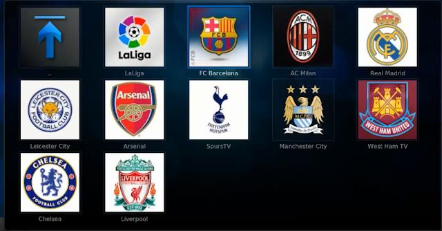 تركيب مستودع your kodi وإضافة your football