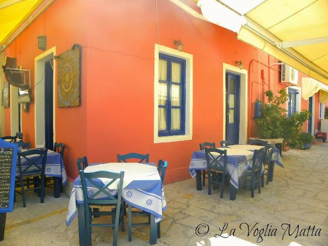 Cefalonia Fiskardo ristorante Lagoudera