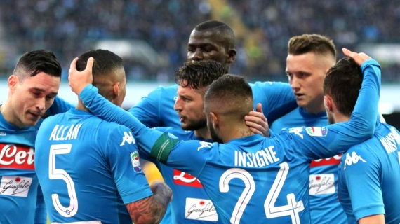 Napoli have been in top form with four wins on the spin