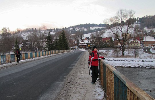 Most nad Białym Dunajcem.