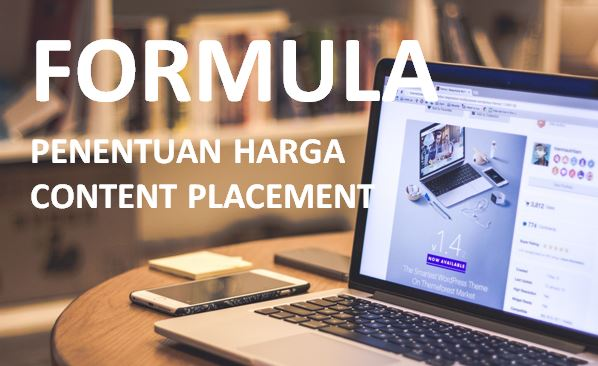 Formula Penentuan Harga Content Placement - Sponsored Content