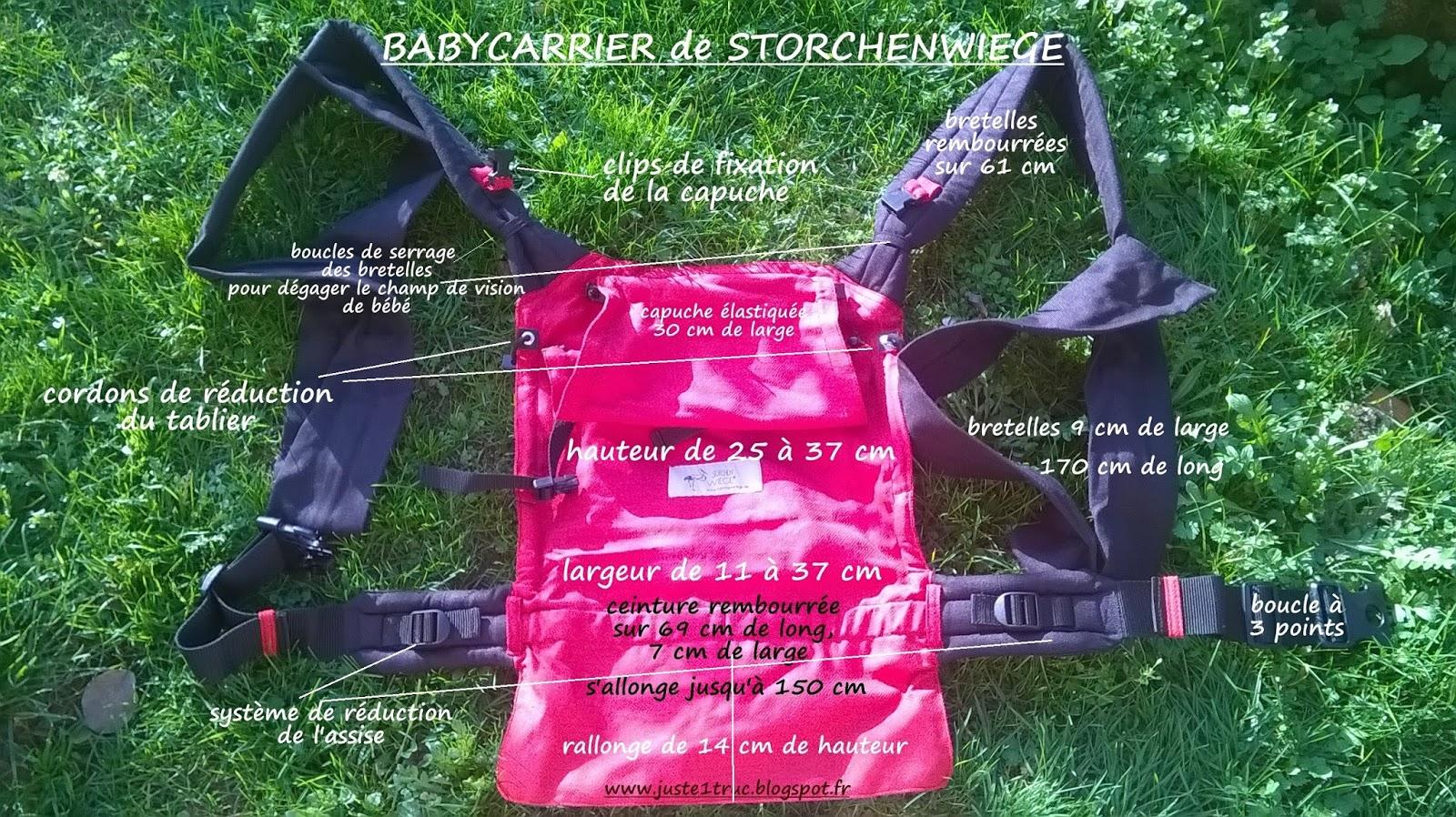 babycarrier storchenwiege porte-bébé meitai mei-tai portage bébé porter  test dimensions hybride clip b71d8de67dc