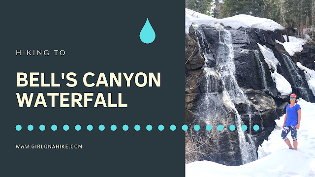 Hiking to Bells Canyon Waterfall