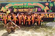 Kades Sikoran Lepas Delapan Anak TK Mentari Pagi
