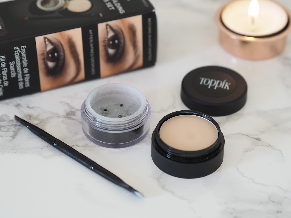 Toppik brow building fibres review eyebrows Priceless Life of Mine Over 40 lifestyle blog
