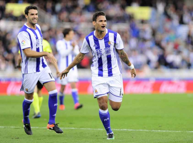 Willian José tem nove gols no Espanhol e está relacionado para o jogo (Foto: Ander Gillenea/AFP)