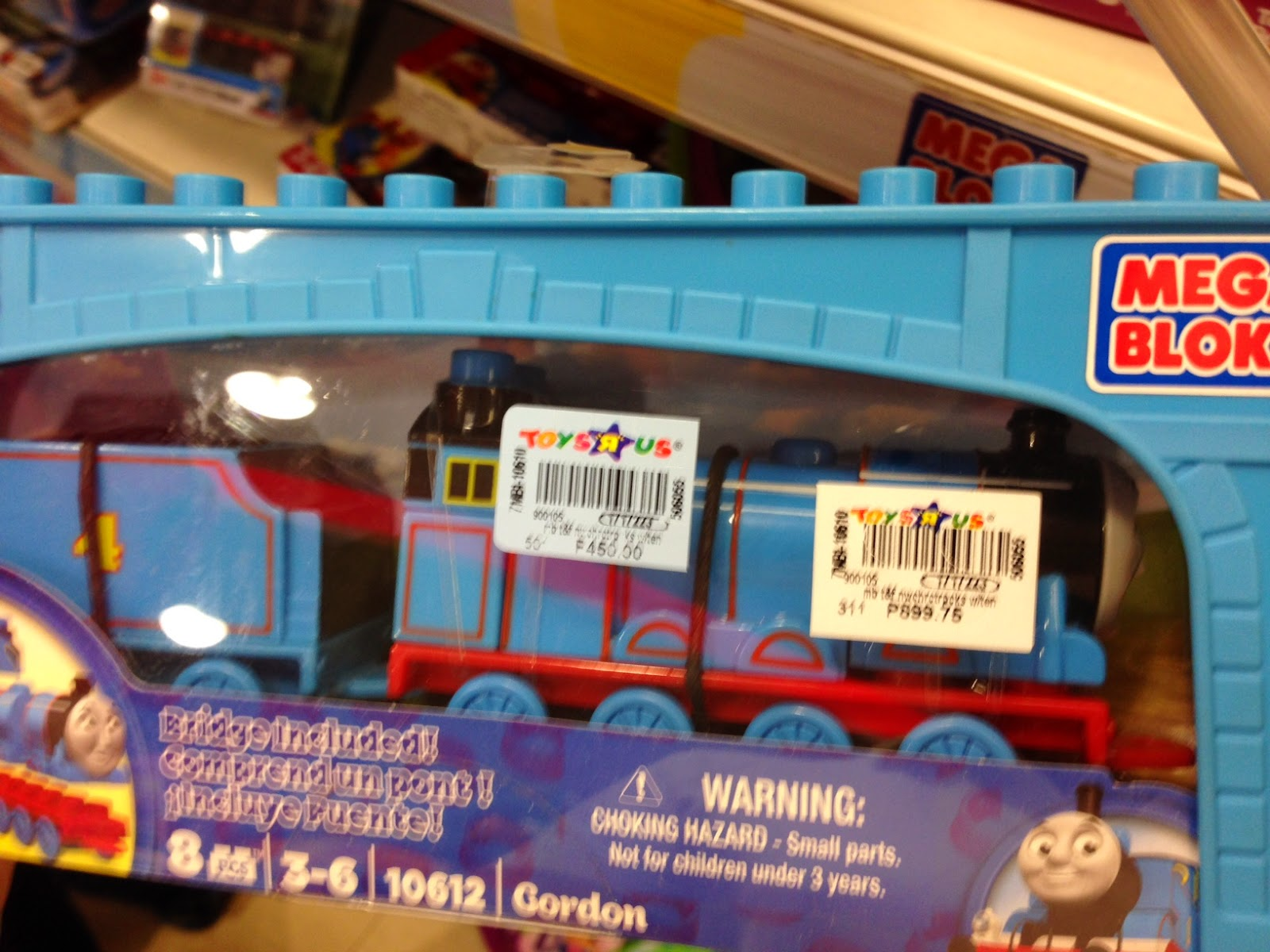 Toy SALE : Mega Bloks Thomas the Tank Engine at 50% off