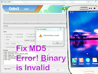 Trik Memperbaiki Gagal Flash Samsung Galaxy S3 GT-I9305 MD5 Error! Binary is Invalid