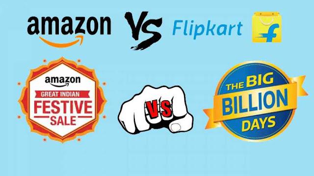 Flipkart Sale, Amazon Sale