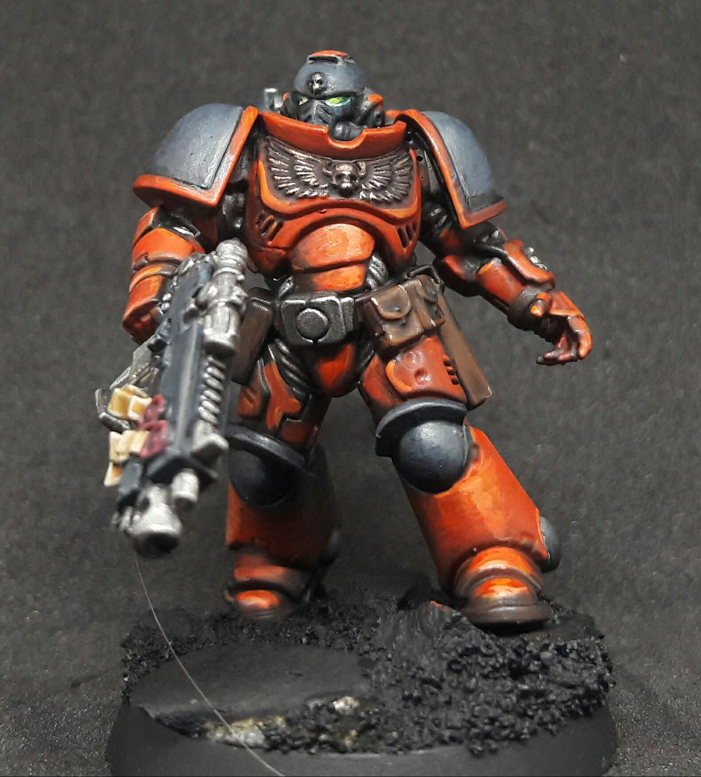 Paint Schemes: 30Kplus40K: Painting Primaris Marines