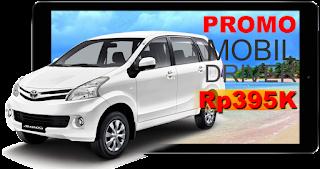 Promo rental mobil Bandung hanya Rp395000