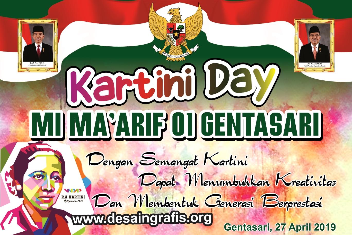 Desain Banner Spanduk Hari Kartini cdr Terbaru   Kumpulan ...