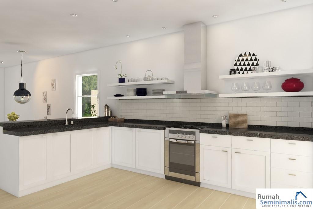 Denah Model Desain Gambar Rumah Minimalis Idaman Modern Tipe 21
