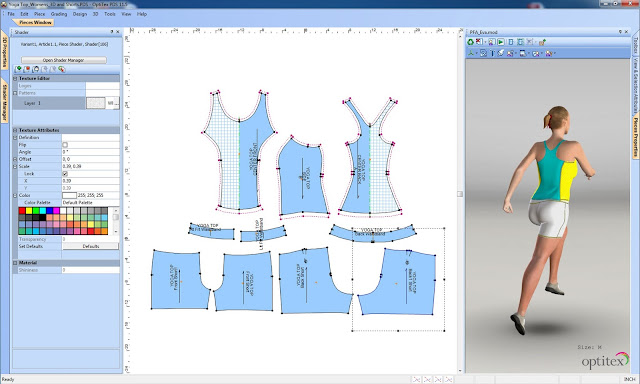 laboratorio del software: Optitex 9 6 windows 7 y XP