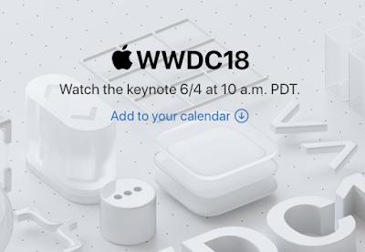 Apple Will Live Stream the WWDC 2018 Keynote Address