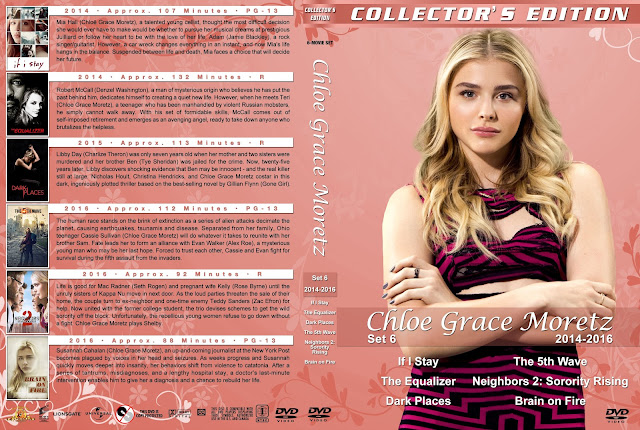 Chloe Grace Moretz Collection Set 6 DVD Cover
