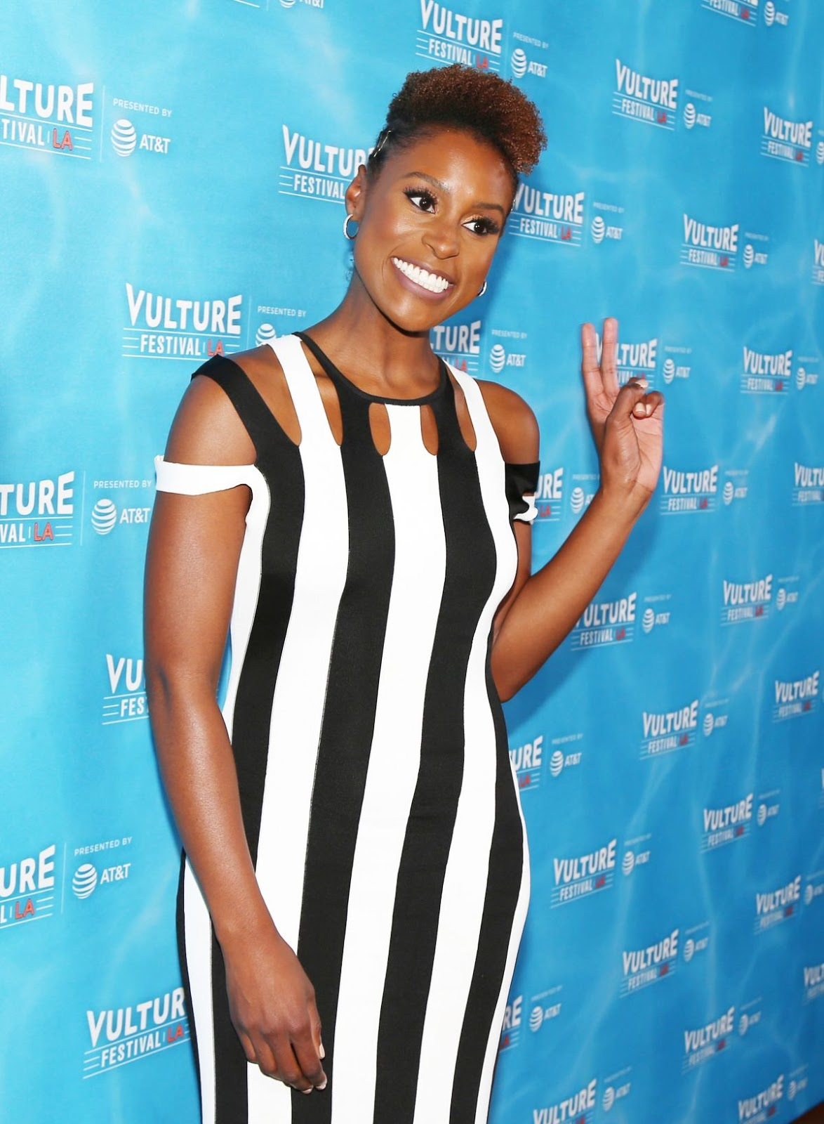 Issa Rae at Unreal vs Superstore Vulture Festival's Wine Down with Insecure's Issa Rae in Hollywood
