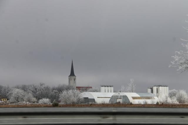 autolla Virossa, Tallinna-Rakvere-Narva