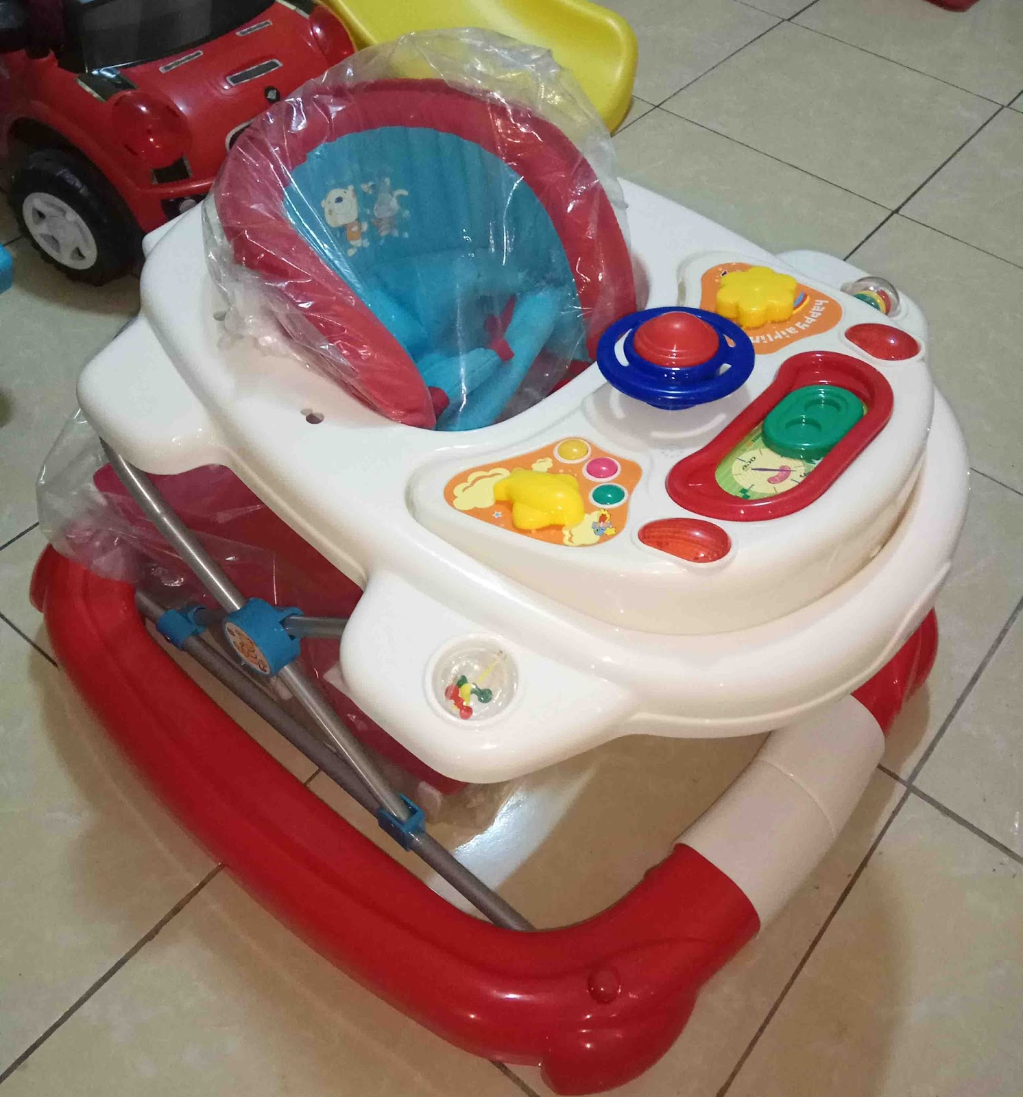 Baby walker klasik biya buat kursi goyan barang ready