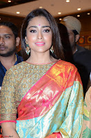 Shriya Saran Looks Stunning in Silk Saree at VRK Silk Showroom Launch Secundrabad ~  Exclusive 159.JPG