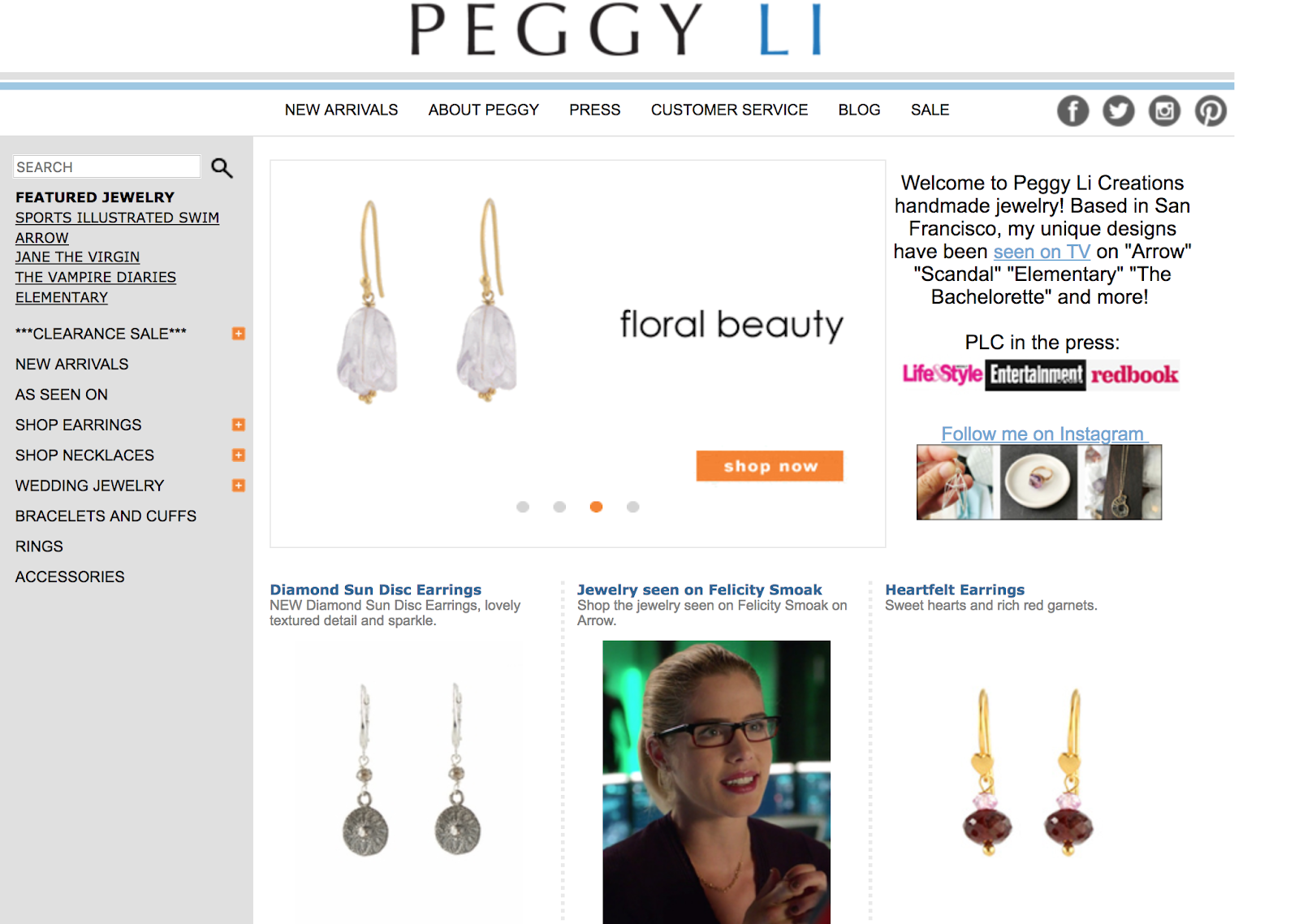 Peggy Li Creations Jewelry Blog on Feedspot - Rss Feed