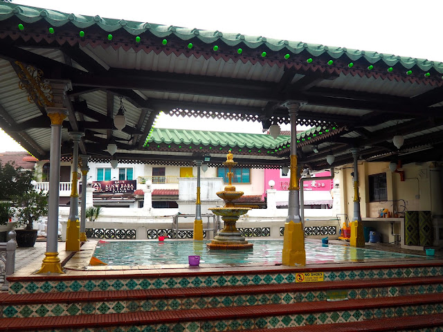 Mosque on Harmony Street, Melaka, Malaysia