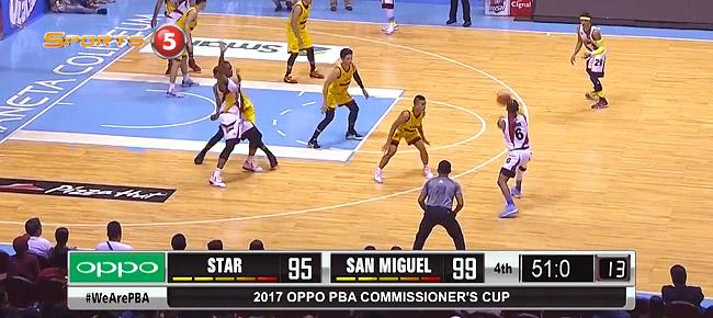 HIGHLIGHTS: San Miguel vs. Star Hotshots (VIDEO) April 16