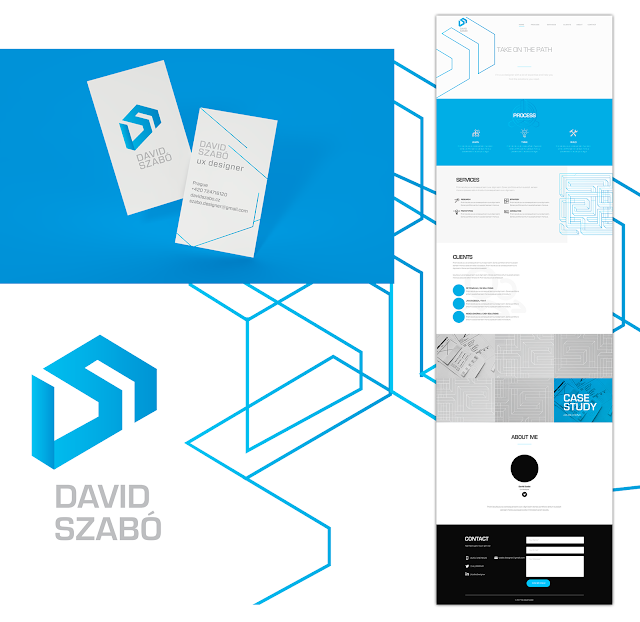 Corporate identity for David Szabo - finals by Jules Muijsers