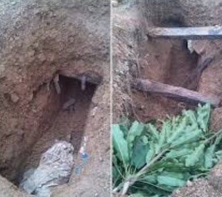 man digs grave sister buried 50 years ago ekiti