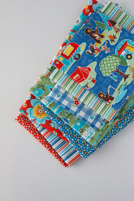 Road Trip fabrics Kelly Panacci Riley Blake Designs