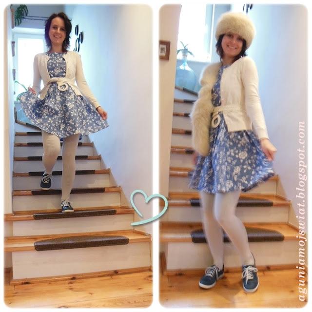 Sukienka z Burda 05/2011