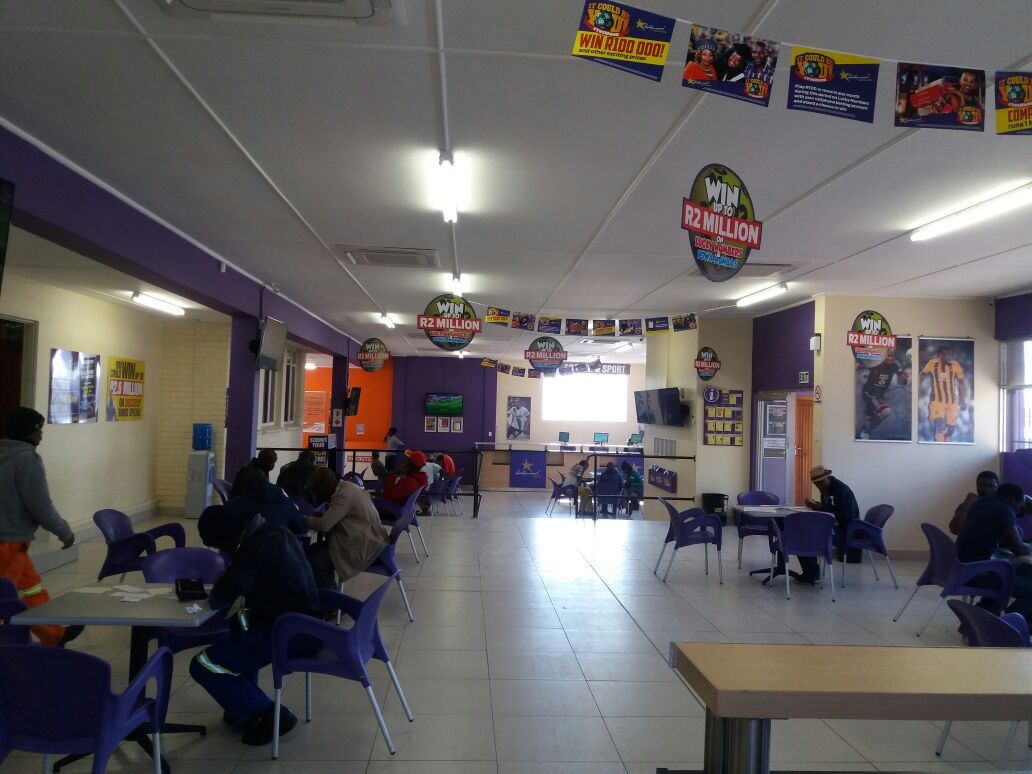 Hollywoodbets Estcourt - Betting Floor - Kwa-Zulu Natal