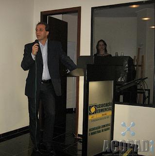 Alexandre Gibotti, diretor executivo da ABRADi, no lançamento da ACOPADi.