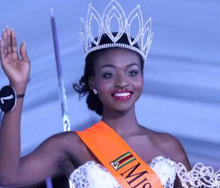 Fired! Miss Zimbabwe stripped of title after nude photos leak   Hindustan Times