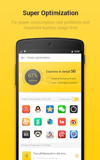 تحميل تطبيق Yellow Battery المفيد لبطارية الهاتف