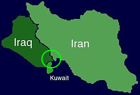 Iraq, Iran and Kuwait